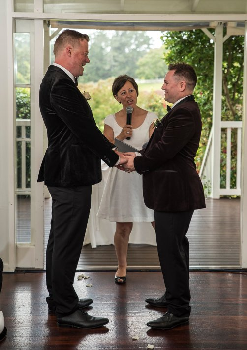 Same Sex Marriage Ceremony New Zealand