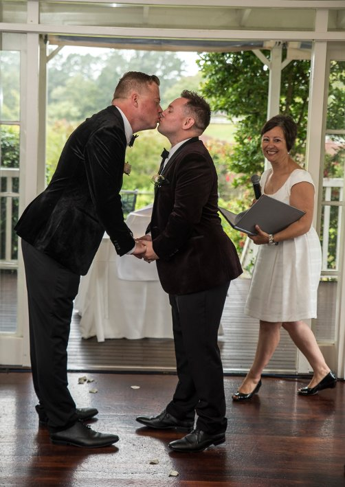 Same Sex Wedding Ceremony - Auckland